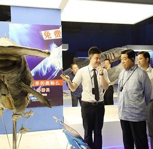 2014年7月28日 十一届全国政协主席 贾庆林首长 莅临指导